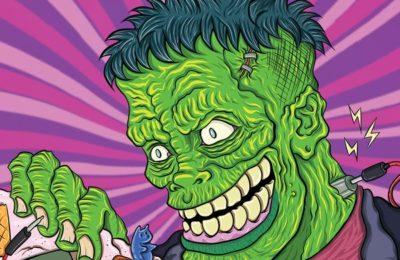 Frankenstein, or the 8 bit Prometheus book presentation